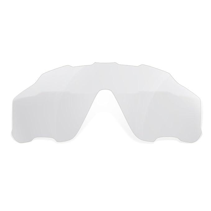 00785bff62 sunglasses restorer Lentes de Recambio Transparentes para Oakley Jawbreaker    Lentes Ideales para Ciclismo: Amazon.es: Deportes y aire libre
