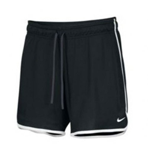 NIKE Womens Drill Mesh Shorts - Black - Medium