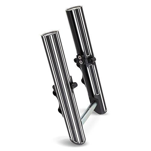 Arlen Ness 40-525 Black Hot Legs Fork Leg Set