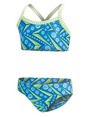 Dolfin Girl's Uglies 2-Piece Bikini Swimsuit (Zenon, 12) ()