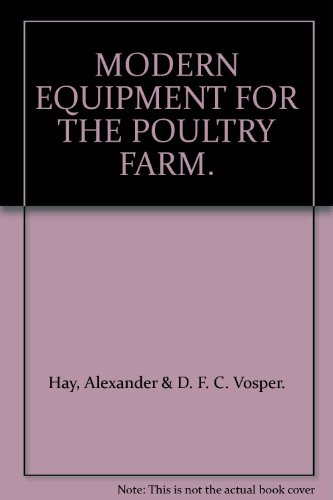 MODERN EQUIPMENT FOR THE POULTRY FARM.