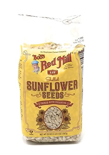 Sunflower 20 Seeds - Bob's Red Mill Raw Shelled Sunflower Seeds 20 oz