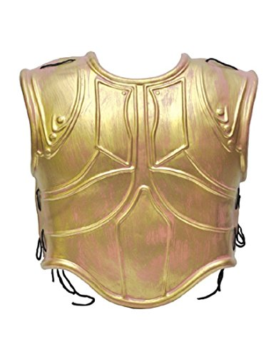 Forum Novelties 66647 Gold Roman Chest Armor, Multi, One Size]()