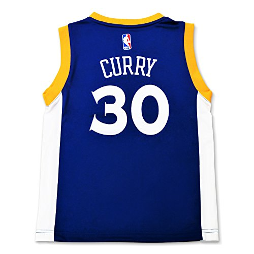 Stephen Curry #30 Golden State Warriors Adidas Youth Alternate Replica Jersey (Youth X-Large 18/20)