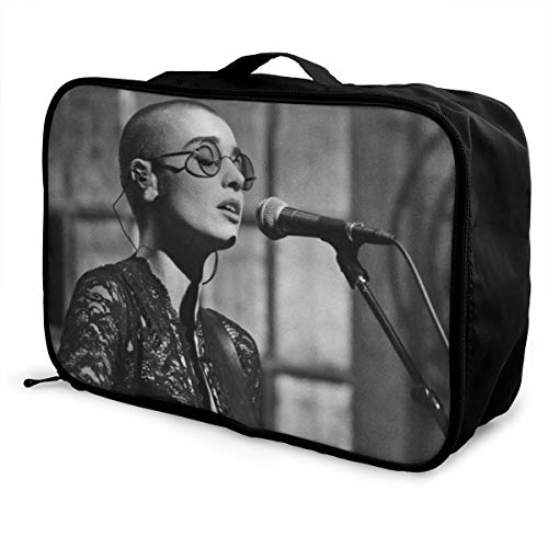GNonBcalvAes Sinead O'Connor Travel Duffel Bags For Weekend Bag Overnight Carry On Lightweight Large Capacity Portable Luggage Bag