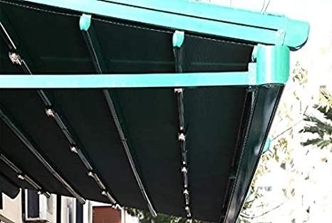 NAO - Pérgola eco, toldo retráctil impermeable, 3, 5 m x 3 m ...