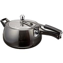 Hawkins CB50 Hard Anodised Pressure Cooker, 5-Liter