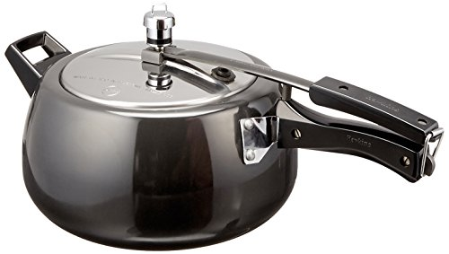 Hawkins CB50 Hard Anodised Pressure Cooker, 5-Lite…