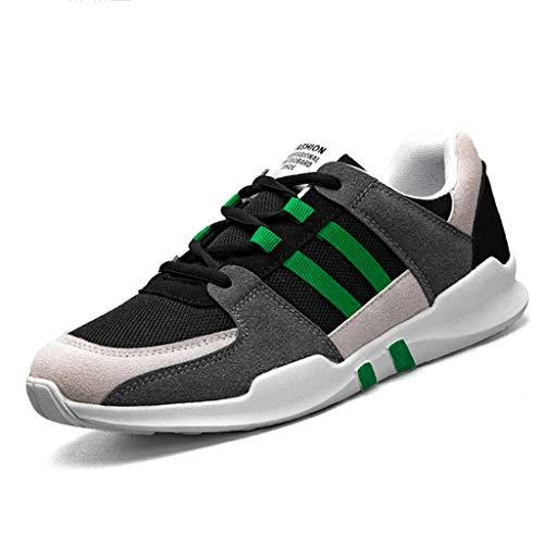 color uomo scarpe di uomo WangKuanHome scarpe Gray tela scarpe casuale traspirante Size orange da green 40 Color tendenza estate Gray da Color selvaggia uomo da Scarpe 8F8zR