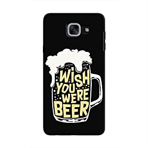 Cover It Up - Wish You Were Beer Galaxy J7 Max Hard Case