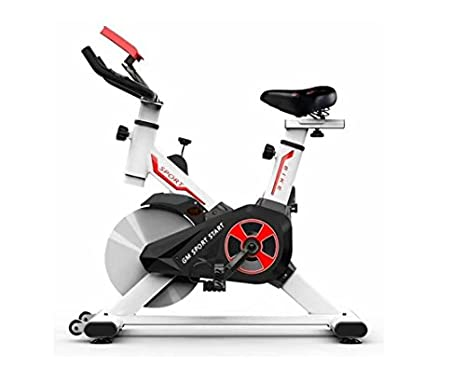 BICICLETA ESTÁTICA CICLO INDOOR GM START 10 KILOS: Amazon.es ...