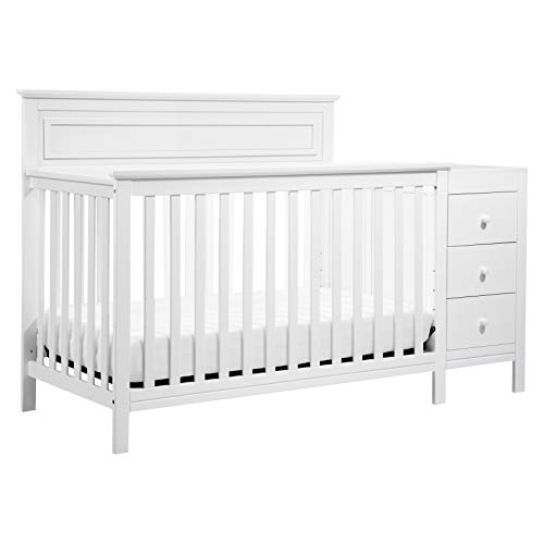 DaVinci Autumn 4-in-1 Crib & Changer Combo, White ()