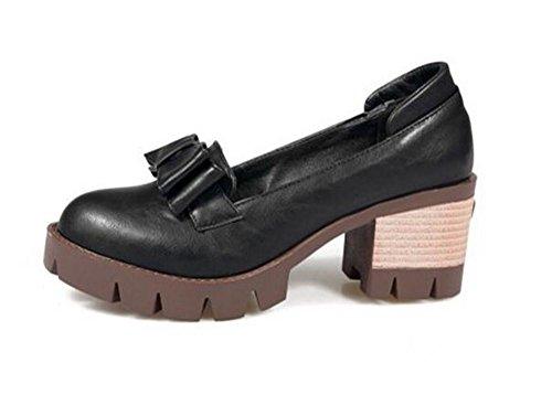 Mujer pie 37 los arquean los Superficial Boca de del la Baja la Zapatos Gray Zapatos de Dedo Zapatos XIE de Cerrado Cómodos 37 BLACK Cfwngtqx70