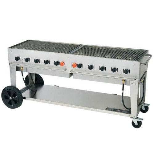 Crown Verity MCB-72 Outdoor Charbroiler - Portable by Crown Verity