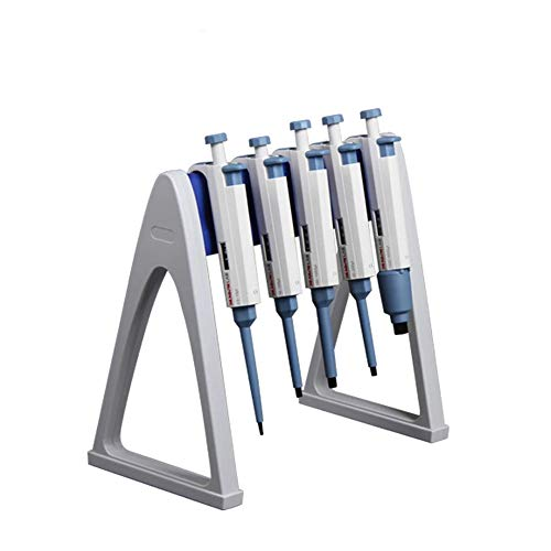 Laboratory Pipette Stand, Stable Holding up 6 Pipettors, Useful Linear Pipettor Stand and Rack for Lab