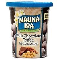 Mauna Loa Premium Hawaiian Roasted Macadamia Nuts, Milk Chocolate Toffee Flavor, 5 Oz Cup (Pack of 1)