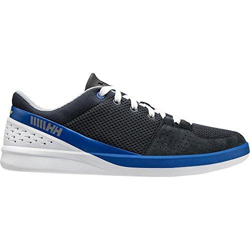 Helly Hansen 2018 HH 5.5 M Performance Sailing Shoes Ebony/Classic Blue 11129 Blu (Ebony/Classic Blue/Sil 980)