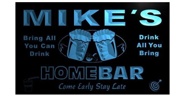 Amazon.com: ADV PRO p105-b Familia de Mike s Home Bar Beer ...