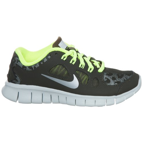 the latest f8a51 1e24b Nike Free 5.0 Shield GS Dark Green Youths Trainers Size 6Y ...