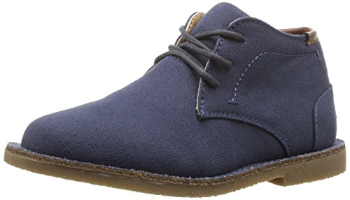 (Kenneth Cole REACTION Boys' Real Deal 2 Chukka, Navy, 8.5 M US Toddler)