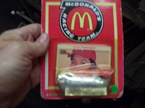 (1/64 Scale Funny Car Dragster - Cruz Pedregon McDonalds with collector card)