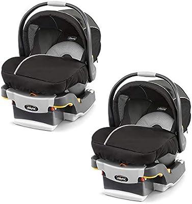 Chicco KeyFit 30 Magic ReclineSure Rear-Facing Infant Car Seat and Base (2 Pack)
