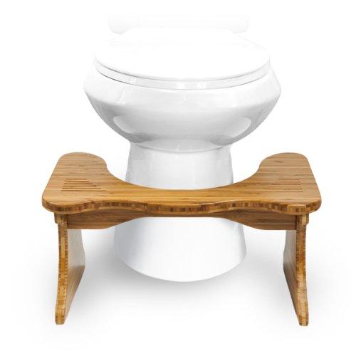 Squatty Potty Adjustable Toilet Stool Tao Bamboo 4 75