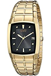 Citizen Men's BM6552-52E Eco-Drive Gold-Tone Stainless Steel Watch