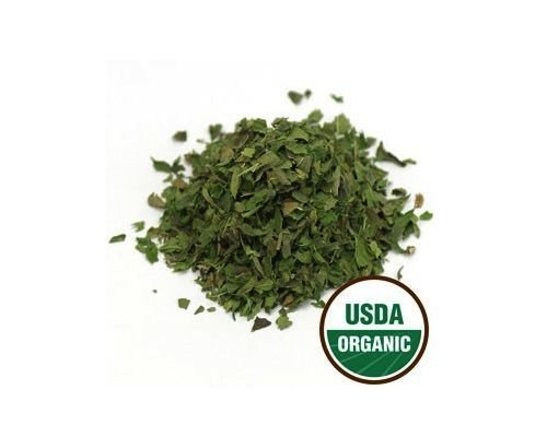 USDA Certified Organic Dried Spearmint Leaf Mentha Spicata Cut & Sifted 4 oz(1/4 lb)