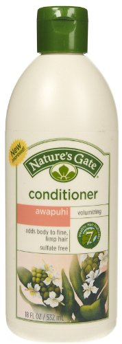 Pack of 12 x Nature's Gate Awapuhi Volumizing Conditioner - 18 fl oz (Natures Volumizing Gate Conditioner)