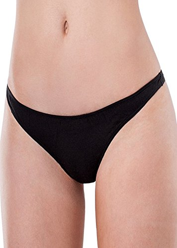 Elita Cotton Low Rise Thong by Lingerie Extra Large ()