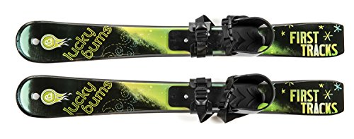 - Lucky Bums Toddler Kids Boys Girls Youth Beginner Snow Skis, Green