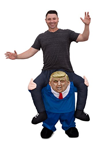 Seeing Red Trump Ride Along Piggyback President Funny