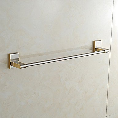 Modern Bathroom European Style Solid Brassbathroom Shelf Bathroom Towel Bar Bathroom Accessories by QCTRSY Bathroom Faucet