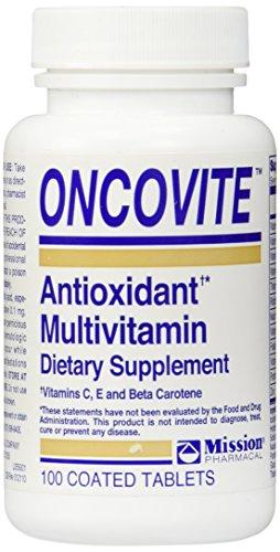 Oncovite Antioxidant Multivitamin Tablets 100 Ea