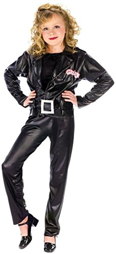 Grease Cool Sandy Child Child Costume - (Grease Sandy Halloween Costumes)