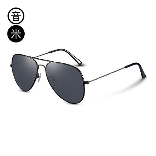 Ash polarizadas gemajing color Frame sol Gun gafas de KOMNY té Trumpet conducción conductor macho café piloto pionero Gafas de gafas comodidad trompeta n6BxwOwqR