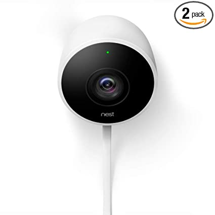 Best Outdoor Security Camera System For Home 2020 Amazon.: Nest Cam Outdoor Security Camera 2 Pack, Works with