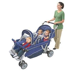 6-Passenger Folding Stroller