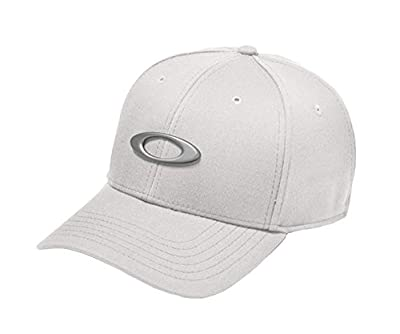 Oakley Tin Can Cap In White Heather, Size L/XL