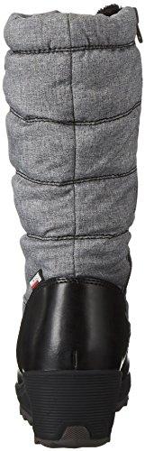 Kamik Gris de charcoal Neige Bottes Detroit Cha Femme Pqr1vPAwx