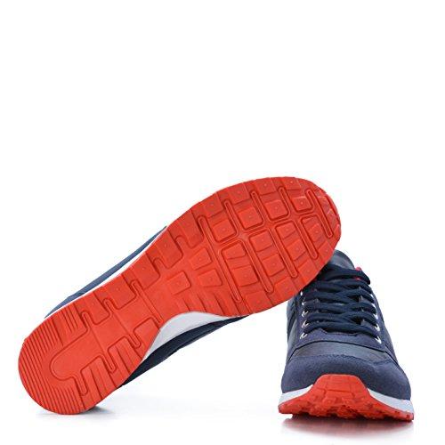 Altamoda Zapatillas Casual de Hombre Azul Marino SS18