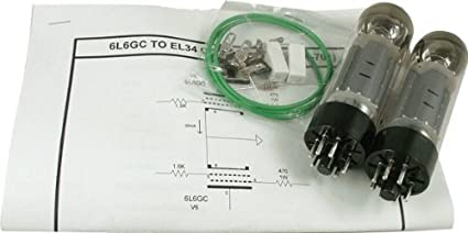 Amazon.com: ModKitsDIY Guitar Amp Mod Kit, 6L6GC To EL34: Musical ...