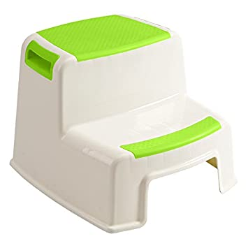 Be-Moming® Slip Resistant Stepping Stool Two Step Stool for Toddlers (Green)  sc 1 st  Amazon.com & Amazon.com : Be-Moming® Slip Resistant Stepping Stool Two Step ... islam-shia.org