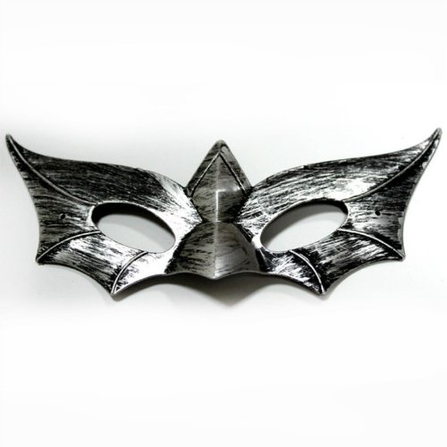 Domire Ancient Silver Pirate Mask Toy Half Face Mask Christmas Halloween Mardi Gras Carnival Venetian Costume Masquerade Fancy Dress Ball Party -