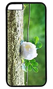 Gentle Rose Masterpiece Limited Design PC Black Case For Iphone 6 Plus (5.5 Inch) Cover by Cases Case For Iphone 6 Plus (5.5 Inch) Cover