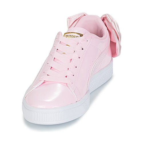 Wn's Basket Scarpe Puma Bow Pink Sportive 36811803 Patent qSaxtAwP
