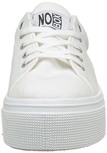 No BoxAlma NB-ALMA/H16 - Zapatillas para mujer Blanco (White)