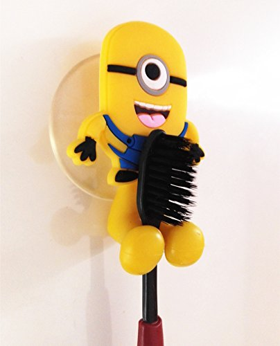 Minion Toothbrush Holder by Monkey Butt Cute Cartoon Suction Cup Toothbrush hooks Bathroom Set Accessories Eco FriendlyThis listing only for Monkey Butt brand