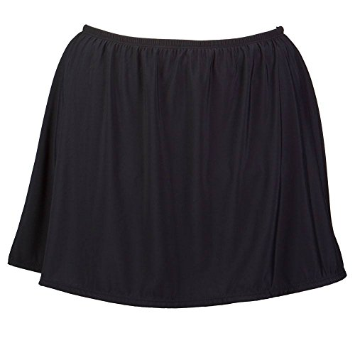 Women's Plus Size Swim Skirt with Built in Panty